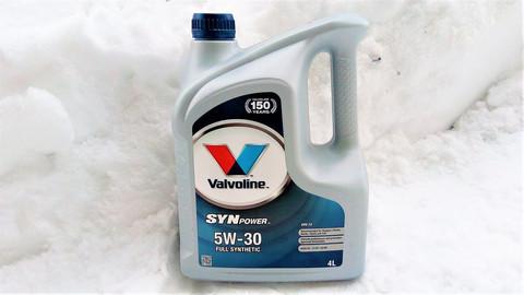 Valvoline Synpower ENV C2 5W-30 moottoriöljy 4l