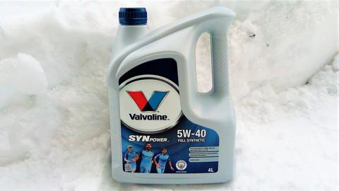Valvoline Synpower 5W-40 moottoriöljy 4l
