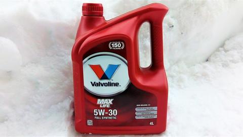 Valvoline Maxlife C3 5W-30 moottoriöljy 4l