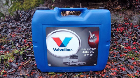 Valvoline Light & Heavy Duty Axle Oil 80W-90 20l