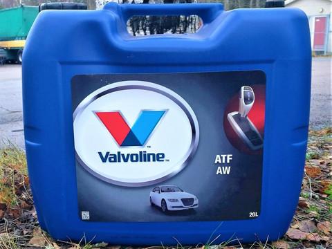 Valvoline ATF AW 20l, automaattivaihteistoöljy Aisin Warner- vaihteistoihin