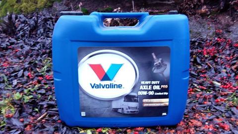 Valvoline Heavy Duty Axle Oil Pro 80W-90 LS 20l, Kitkalukkoakseliöljy