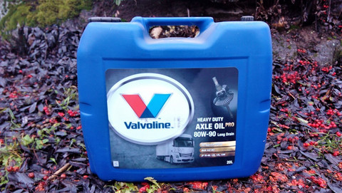 Valvoline Heavy Duty Axle Oil Pro 80W-90 LD 20l, Akseli- ja vetopyörästö-öljy pidennetyille öljynvaihtoväleille
