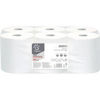 Vetopyyhe valkoinen 6rll, 1- kertainen, 20vm x 274m/ rll