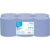 Vetopyyhe sininen 6rll, 2-kertainen, 20,40cm X 135m/ rll