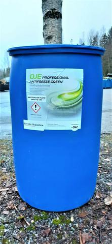 Vihreä jäähdytinneste 200l, käyttövalmis