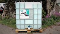 AdBlue 1000l hanalla ja täyttökorkilla + sähköpumppu / Tuotepaketti!