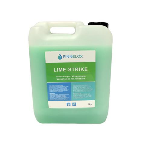 Lime- Strike vahashampoo- tiiviste 10l, käsinpesuun