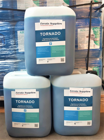 Tornado hajottava wc- kemikaali 60l, tiiviste (3kpl 20l)