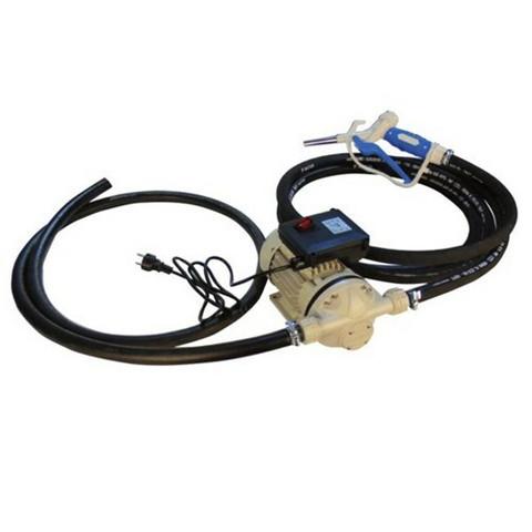 AdBlue sähköpumppusarja tynnyriin 230V, manuaalipistooli