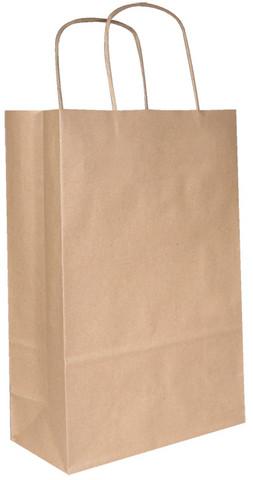 Ekologinen kraft-kassi,  220 x 320 x 100 mm, 50 kpl laatikko