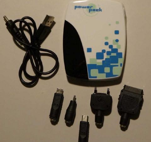 Vara-akku, Power Pack, USB latauslaite