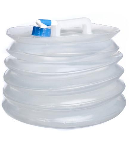 vesisäiliö 15 litraa hanalla, kokoon menevä