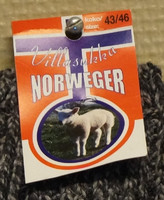 Norweger villasukka, koko 39-42,    Neljän parin hinta !!