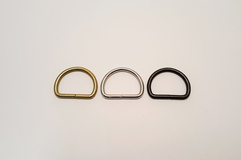 Metallinen D-rengas 26mm