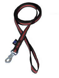 Powergrip 1,8m leash Black-Red BGB