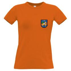 Naisten T-paita oranssi SPeKL
