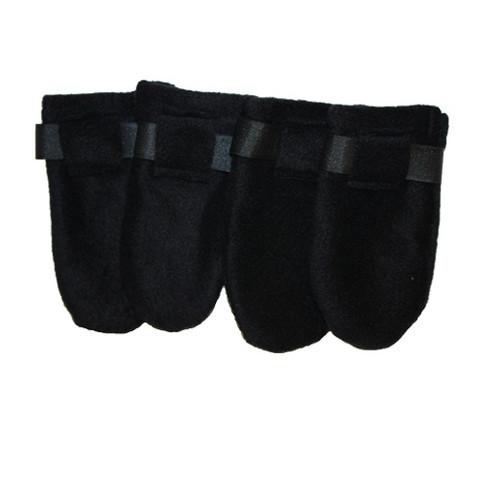Fleece boots, Black