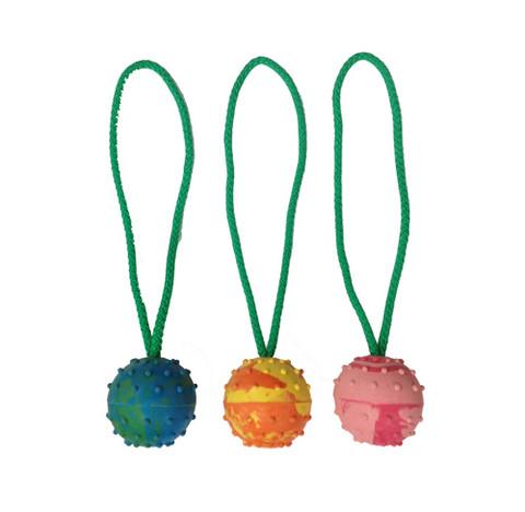 Täyskumipallo 6cm lenkillä