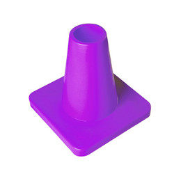 Weighted 15 cm marker cone, lila