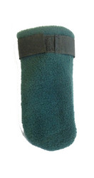 Fleece boots, Green