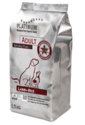 Platinum Adult Lammas+Riisi 1,5kg