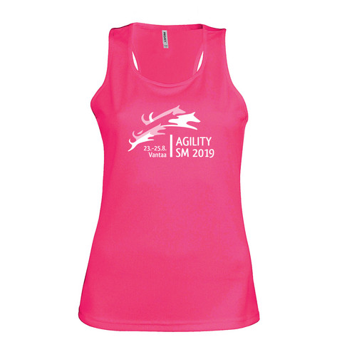 Women´s sports vest Fuchsia