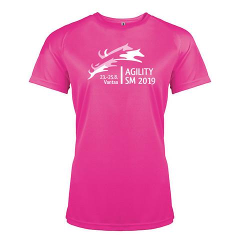 Lady Fit Sport shirt Fuchsia Proact