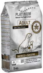 Platinum Adult Iberico  Greens  5kg