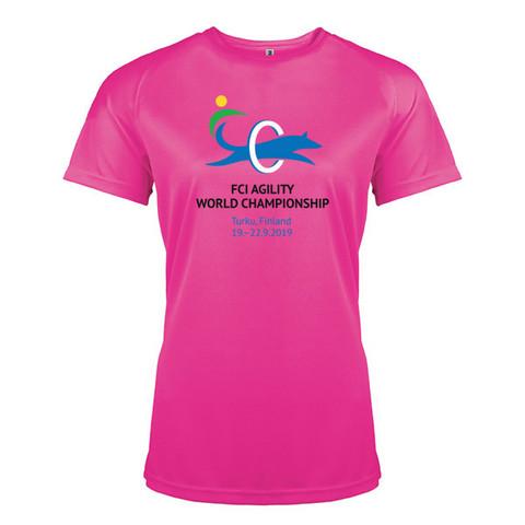Women´s  Sport shirt Fuchsia