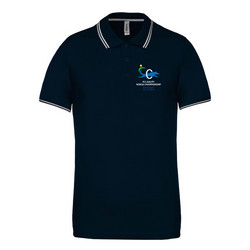 Men´s short sleeved  polo shirt Navy