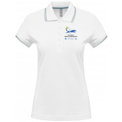 Women´s short sleeved  polo shirt White