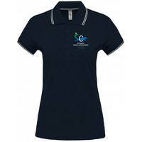 Women´s short sleeved  polo shirt Navy