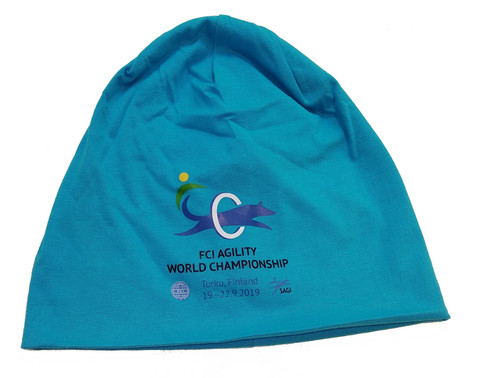 AWC2019 Beanie Turquoise