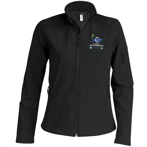 Ladies` Softshell Jacket Black