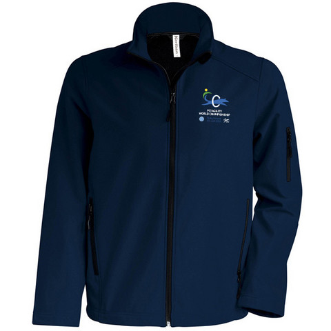 Mens` Softshell Jacket Navy