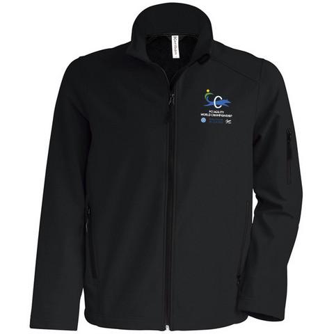 Mens` Softshell Jacket Black