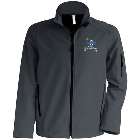 Mens` Softshell Jacket Titanium