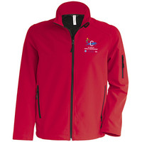 Kids Softshell Jacket Red