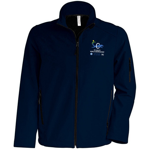 Kids Softshell Jacket Navy