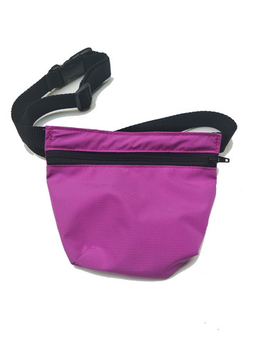 Treat bag and belt Fuchsia