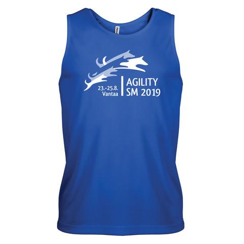 Unisex sport vest Sporty Blue