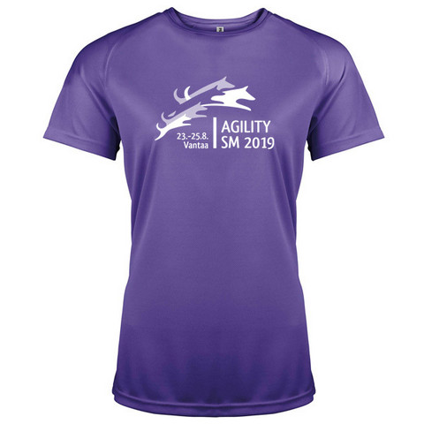 Lady Fit Sport shirt Lilac