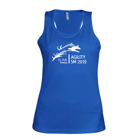 Women´s sports vest Sporty blue