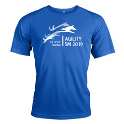 Unisex Sport shirt Sporty Blue