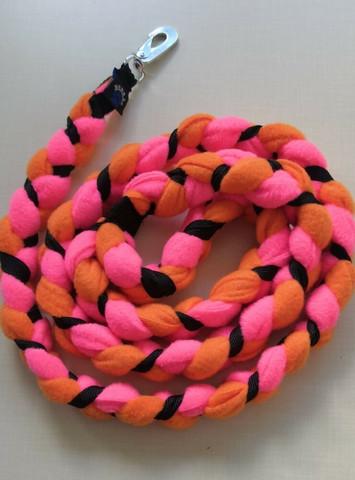 Fleecetalutin 160cm BGB Pinkki-Oranssi-Musta