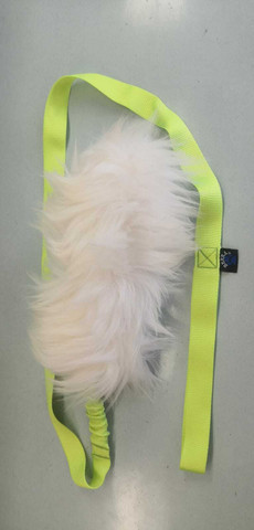 BERRA sheep bungee with squeek 135cm Lime