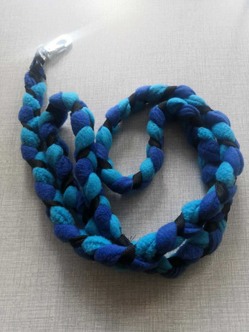 Fleece leash 160 cm BGB oCEAN BLUE