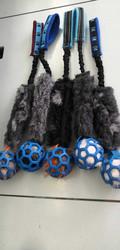 BERRA Ultimate keinokarvalla sininen pallolla