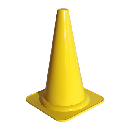 Obedience 40cm Cone Yellow